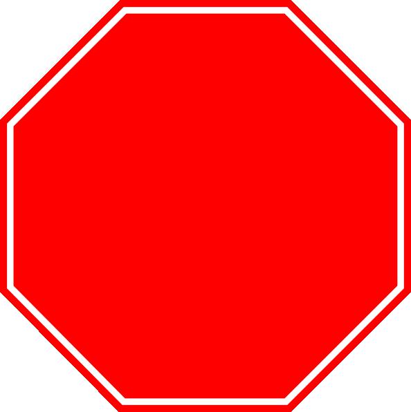 stop sign clip art at clkercom vector clip art online