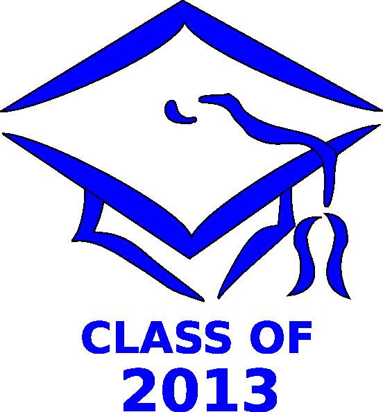 class of 2013 graduation cap clip art at clker com vector clip art rh clker com Graduation Background Graduation Cap Clip Art