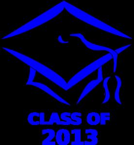 class of 2013 graduation cap clip art at clker com vector clip art rh clker com Graduation Silhouette Clip Art Graduation Clip Art Microsoft