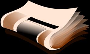 Blank Newspaper Clip Art