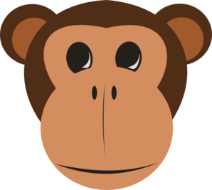 monkey face clip art at clker com vector clip art online royalty rh clker com happy monkey face clipart