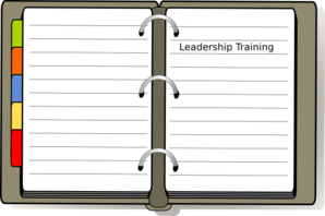 Training Diary Clip Art