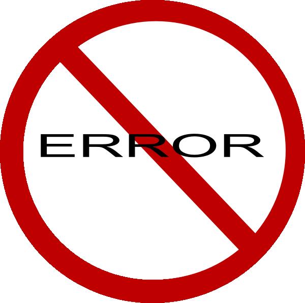 Dating In Error