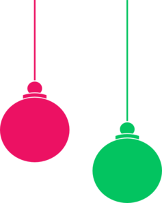 Hanging Ornament Clip Art