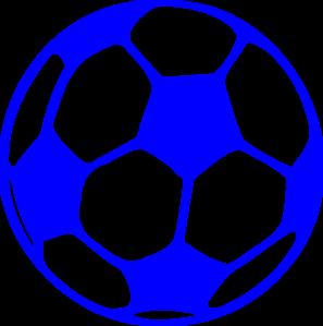 blue soccer ball clip art at clker com vector clip art online rh clker com ball clipart png ball clipart soccer