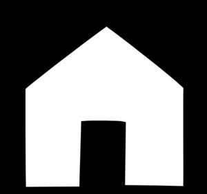 black house outline clip art at clker com vector clip art online rh clker com house outline clipart vector house outline clipart