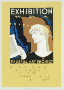 Exhibition Wpa Federal Art Project Index Of American Design / Milhous. Clip Art