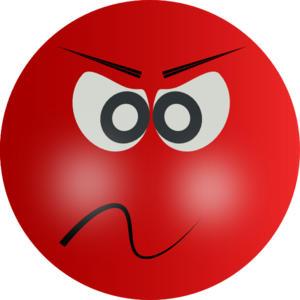 Angry Red Face Clip Art