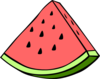 Pink Watermelon Clip Art