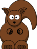 Squirrel Xl Nogmaals Clip Art