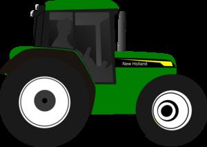green tractor clip art at clker com vector clip art online rh clker com clip art tractor and trailer clipart tractor trailer