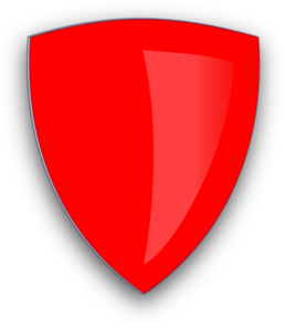 Red Shield Clip Art