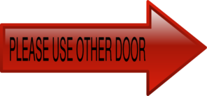 Red Door 223 Clip Art