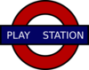 London Tube Sign Clip Art