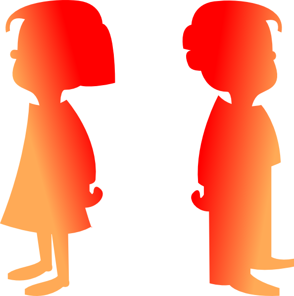 clip art pictures of boy and girl - photo #23