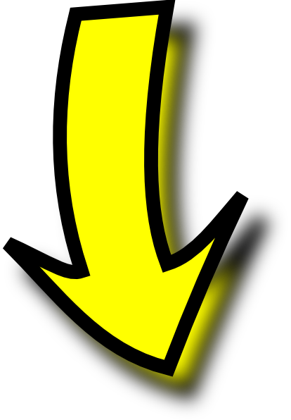 clipart yellow arrow - photo #5