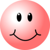 Pink Smiley Face Clip Art