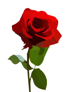 Rose Stock By Breann Clip Art