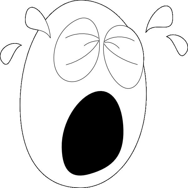 big crying face1 clip art at clker com