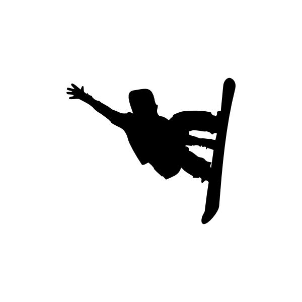 Snowboard Jump Clip Art at Clker.com - vector clip art online, royalty ...