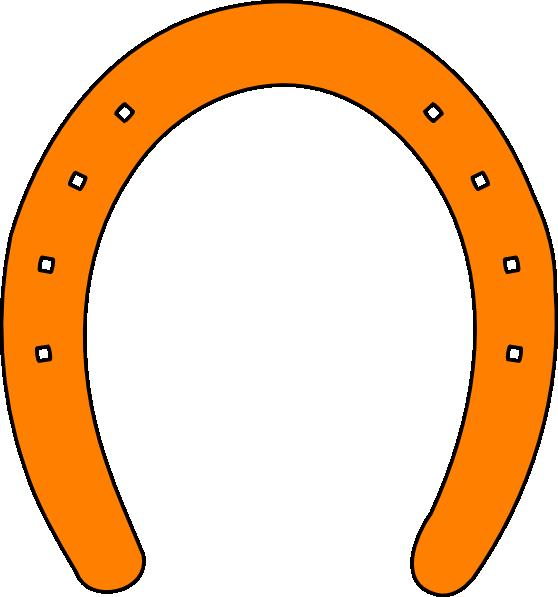 orange horseshoe clip art at clker com vector clip art online rh clker com horseshoe clip art images free horseshoe clip art no background