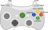 Xbox Controller - How To Dribble Clip Art