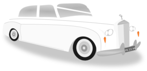 Wedding Limo Car Clip Art