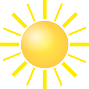 sunshine clip art at clker com vector clip art online royalty rh clker com sunshine clipart pictures sunshine clip art black and white