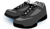 Black Tennis Shoes Clip Art