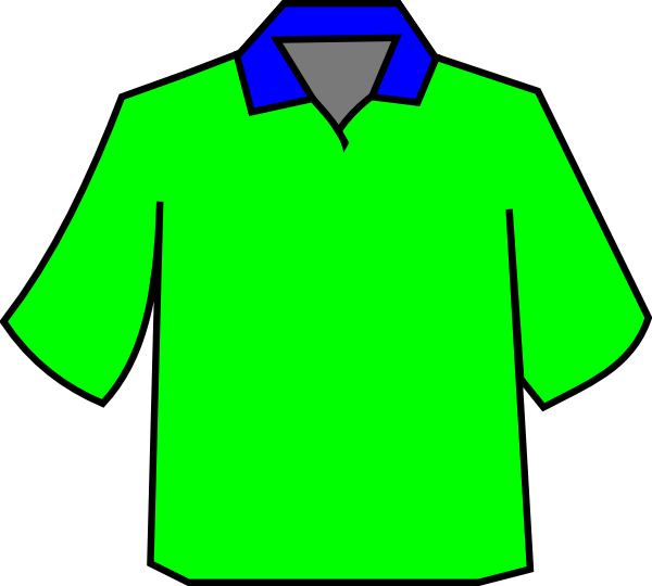 Green Polo Clip Art at Clker.com - vector clip art online ...