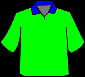 8a16e96d Green Polo Clip Art at Clker.com - vector clip art online, royalty ...