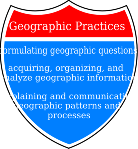 Geographic Practices Clip Art