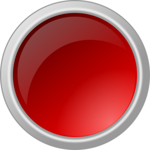 Glossy Red Button Clip Art