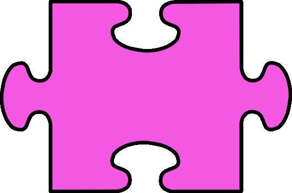 Purple Jigsaw Clip Art at Clker.com - vector clip art online ...