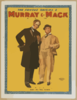 The Famous Originals Murray & Mack In A Brand New Comedy Clip Art
