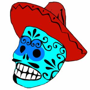 foto de Calavera Clip Art at Clker com vector clip art online royalty free & public domain