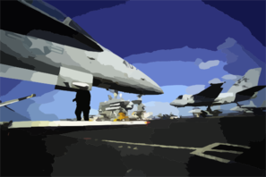 An S-3b  Viking  Assigned To The  Checkmates  Of Sea Control Squadron Two Two (vs-22). Clip Art