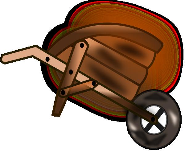 Wheelbarrow Clip Art at Clker.com - vector clip art online ...