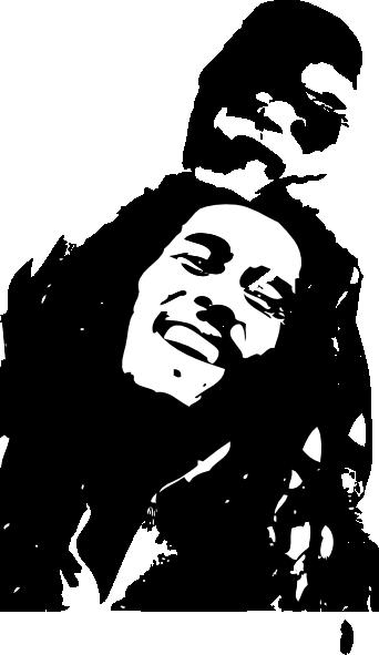 Bob Marley Clip Art At Clker Com Vector Clip Art Online Royalty Free Public Domain