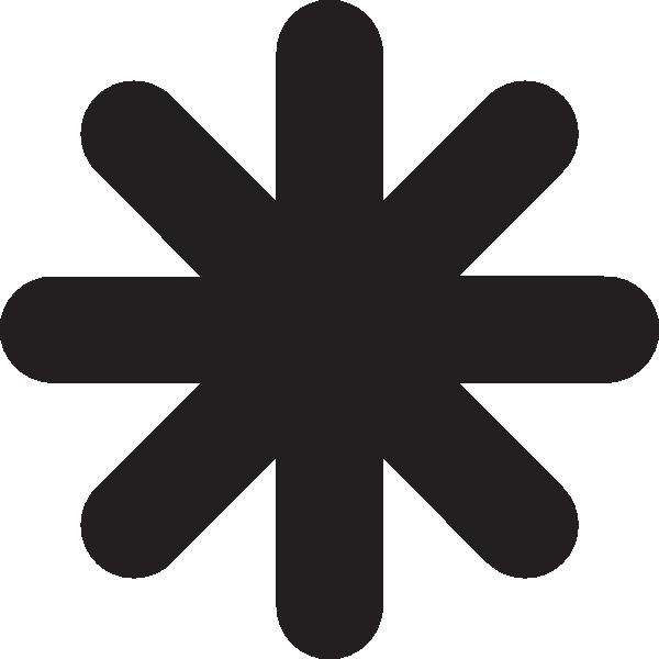 Image result for LARGE ASTERISK