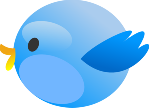 Twitter Fat Bird Clip Art