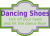 Dancing Shoe Label Clip Art