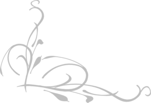 Corner Swirl Clip Art Black And Gray - Clipart Library