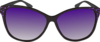 Purple Lense Sunglasses Clip Art