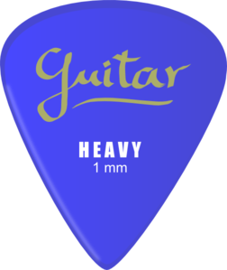Guitar Pick Clip Art