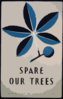 Spare Our Trees Clip Art