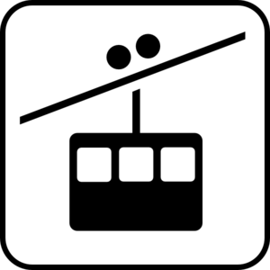 Chairlift Icon Clip Art