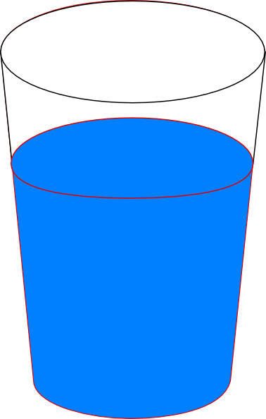 cup of water clipart - photo #1