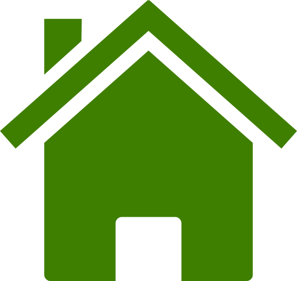 House Icon Dark Green Clip Art at Clker.com - vector clip ... Green Home Icon Png