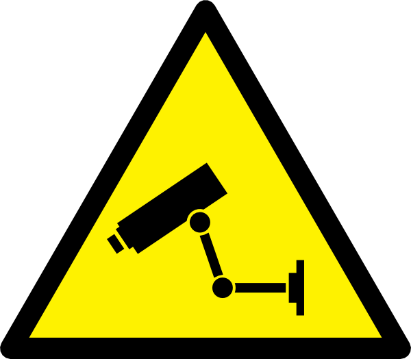 Clipart Security Camera 1 on cctv camera drawing